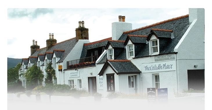 Image showing The Ceilidh Place, Ullapool Copyright Ike Gibson