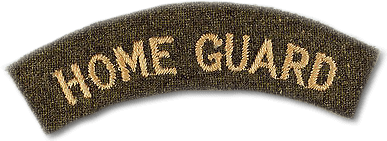 home guard shoulder badge