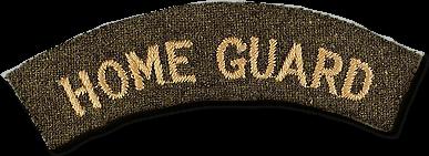home guard shoulder badge