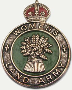 Image: Womens' Land Army Badge