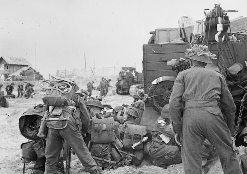 D-Day Landings (Wikimedia Commons)