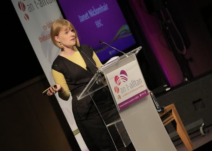 An t-Alltan Conference for Gaelic Teachers 2017 - Janet MacIver BBC