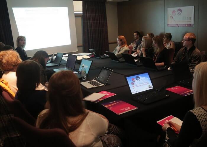 An t-Alltan 2017 - Maeve MacKinnon, Education Scotland leading workshop