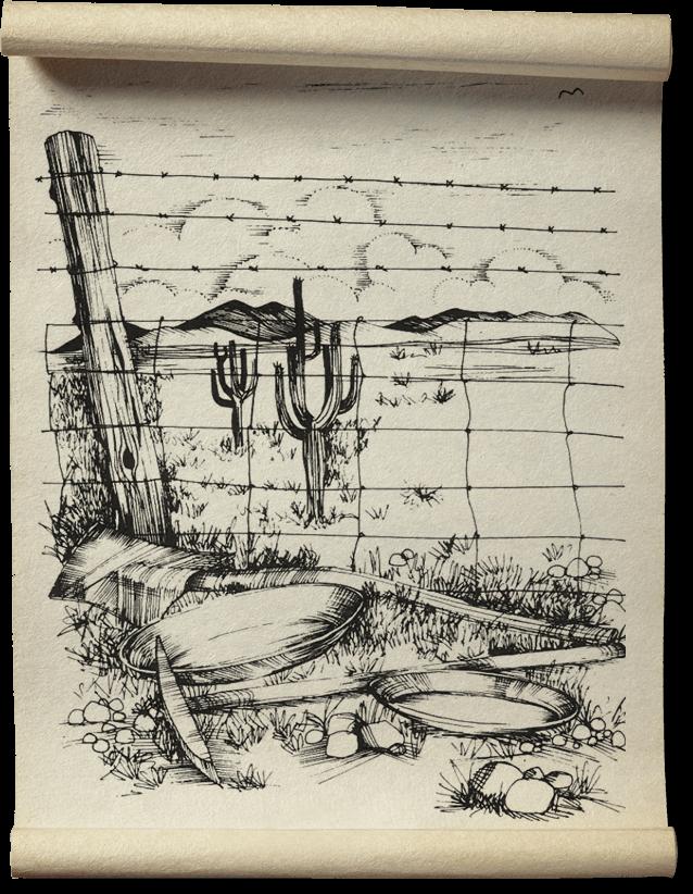 Illustration: Wild West Gold Panning