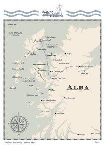 Iolaire Map - Scotland